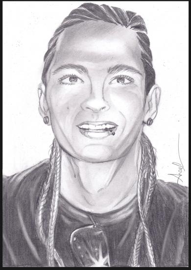 Tom Kaulitz por Angel_tevA
